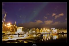 Polarlicht über Norwegen und Finnland